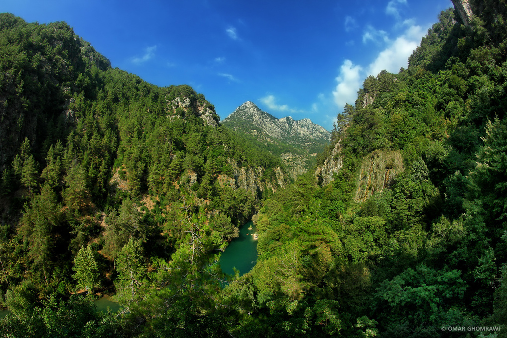 Chouwen Valley and River by Omar Ghomrawi