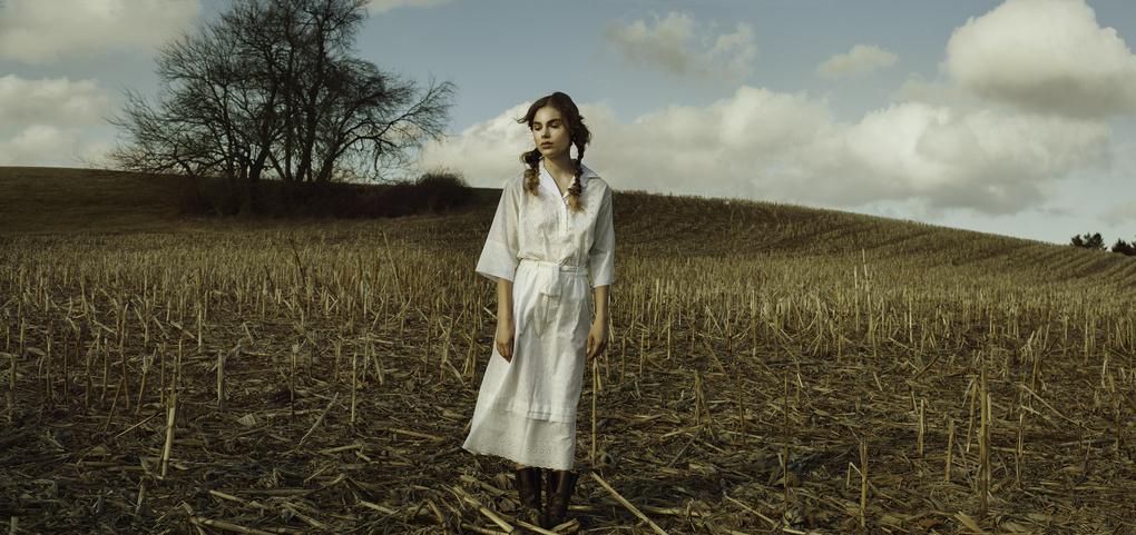 Farm girl by Kate Woodman