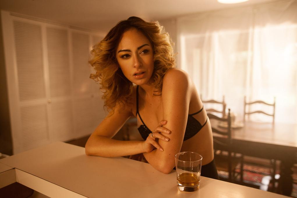 Afternoon drinks by Kate Woodman