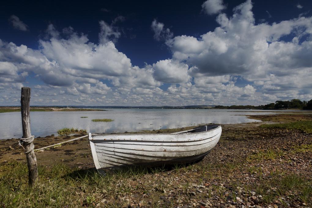 Waiting for the tide by Greg Vivash