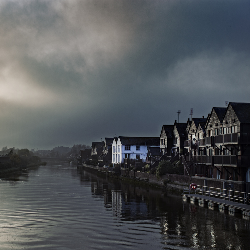 Storm on the horizon by Greg Vivash