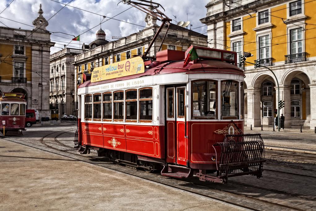 Lisbon Tram  by Greg Vivash