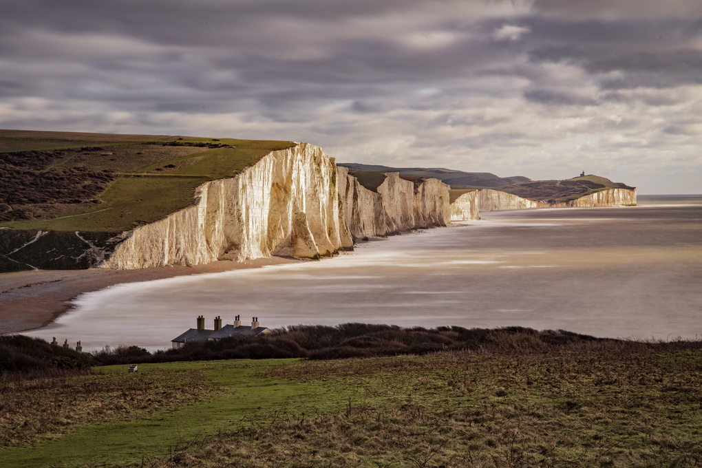 Seven sisters cliffs by Greg Vivash