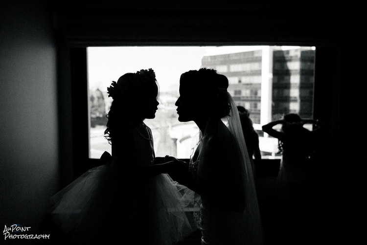 Daughter and Bride Moment by Vince Arredondo