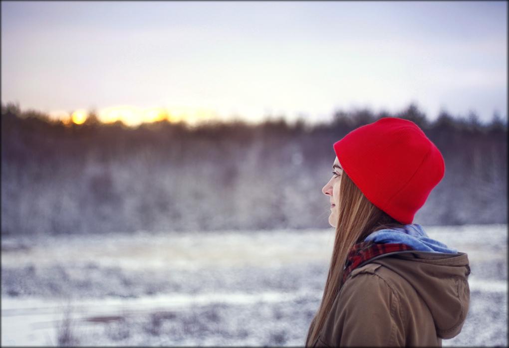 Winter Sundown by Josia Wiegand