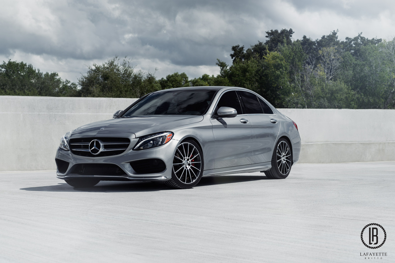 Mercedes Benz C300 Sport with AMG Package by Lafayette Britto