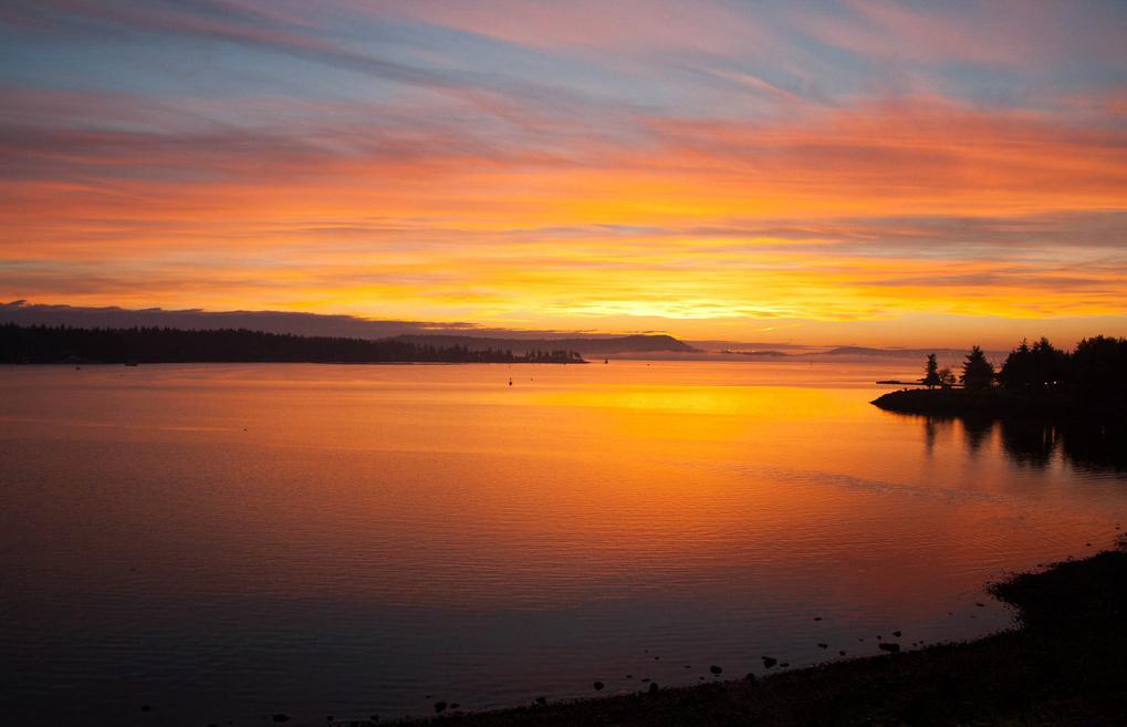 'Harbor Sunset'  by Joel Knapp