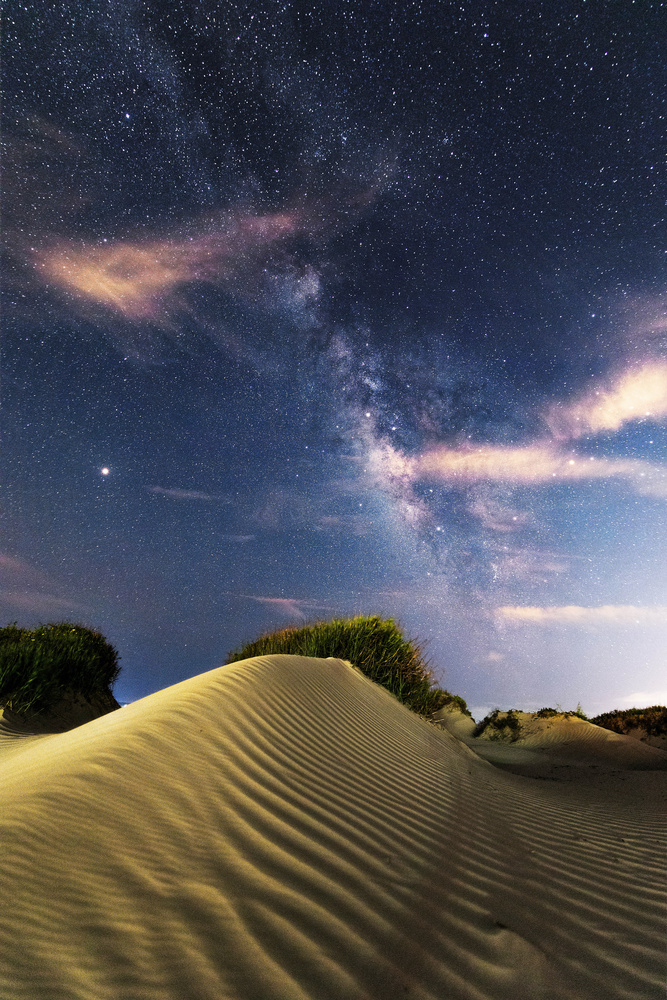 Milky Way over the Texas Dunes by Zach Alan