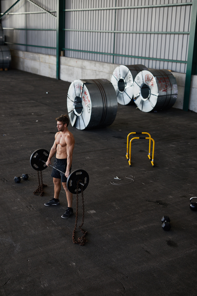 Your Box is wherever you are #CrossfitRules by Jean Lozada