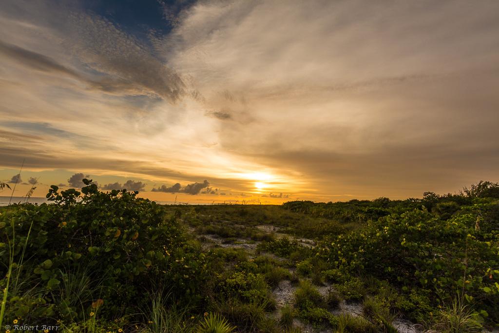 Bowman's Beach Sunset by Robert Barr