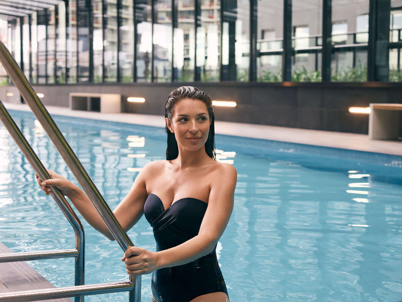 Dip in the pool by Kristian Gehradte