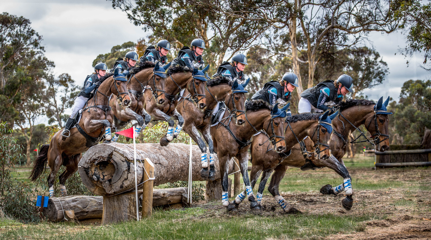 Eventing Action Sequence  by Campbell Sinclair