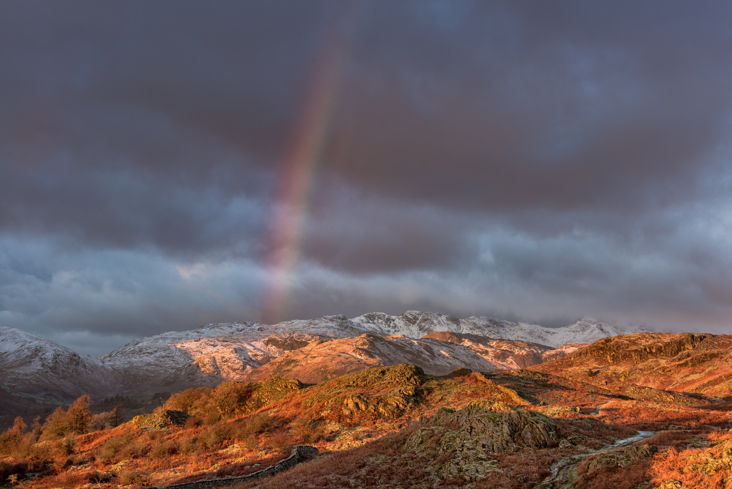 Loughrigg Fell sunrise by MARTIN BROWN