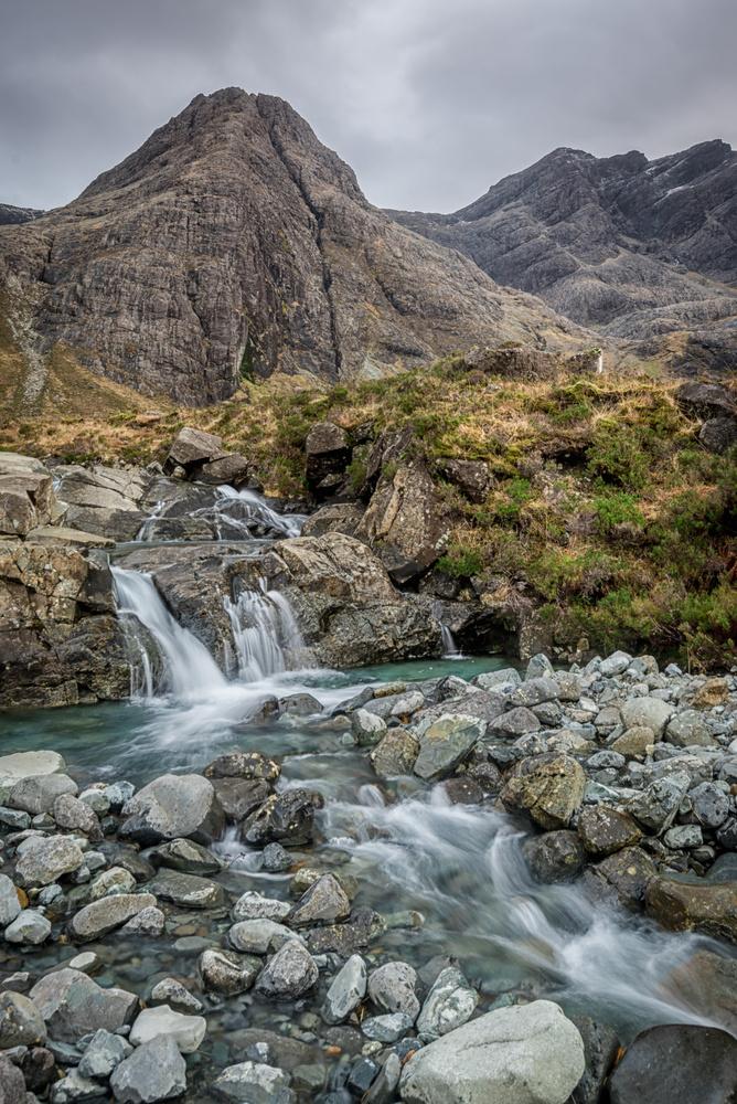 Fairy pools, Isle of Skye by MARTIN BROWN