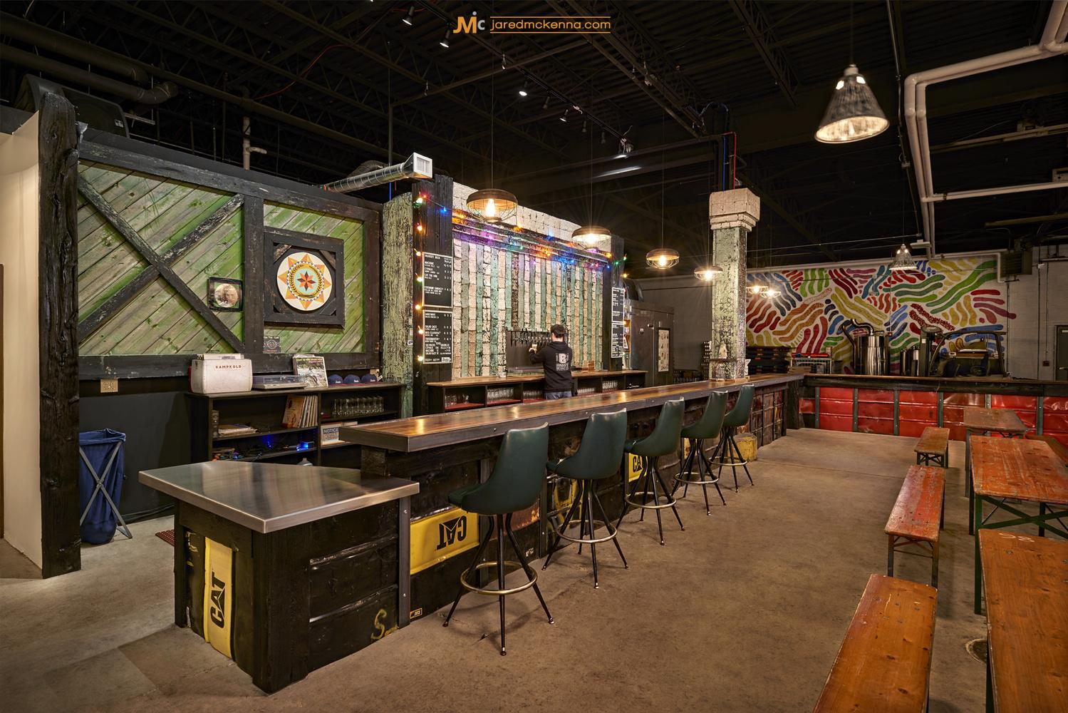 Brewery Tasting Room by Jared McKenna