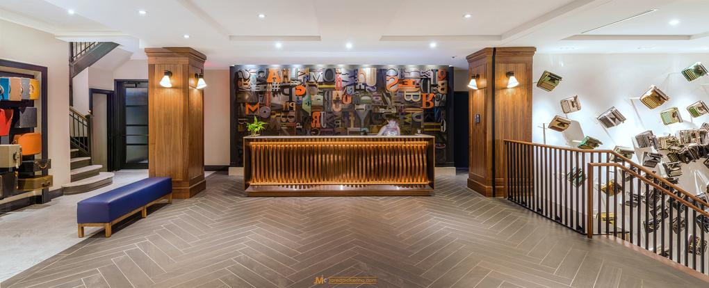 Press Hotel Lobby by Jared McKenna
