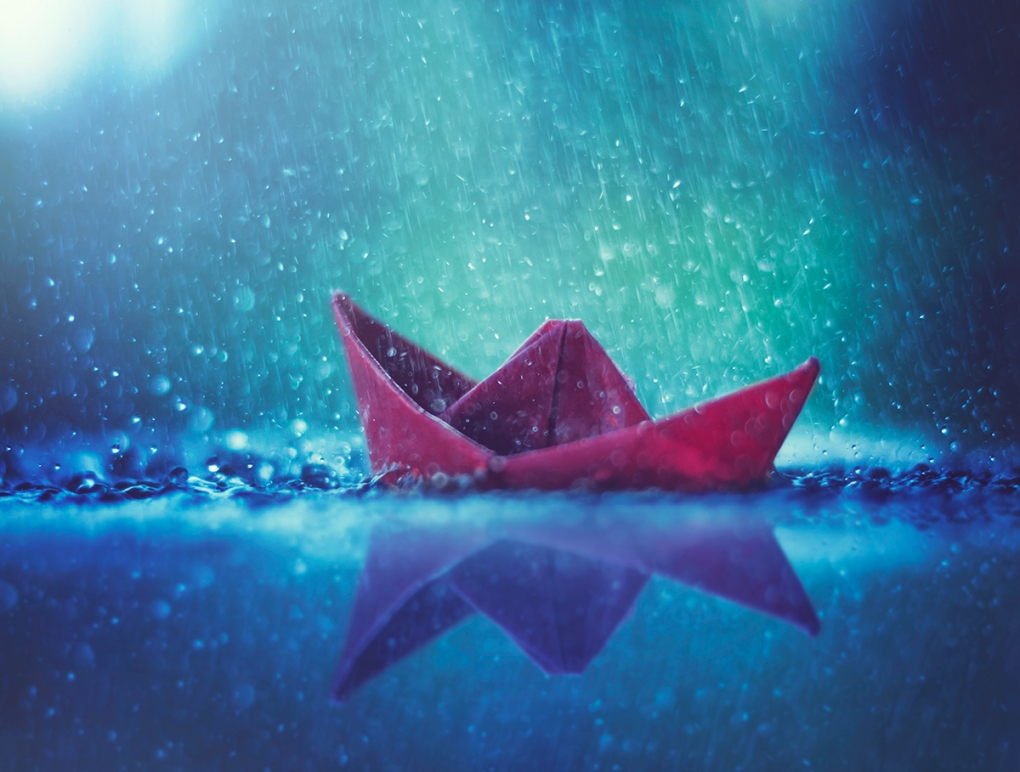 It was a stormy night by Ashraful Arefin