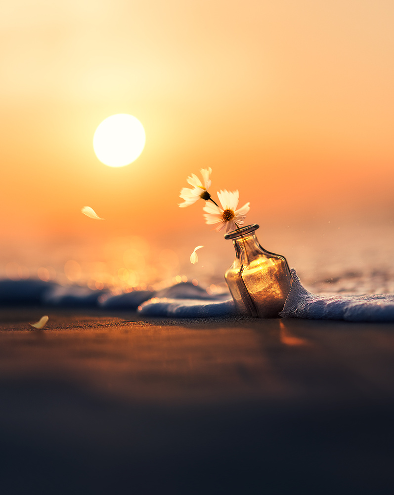 Tale of waves and wind by Ashraful Arefin