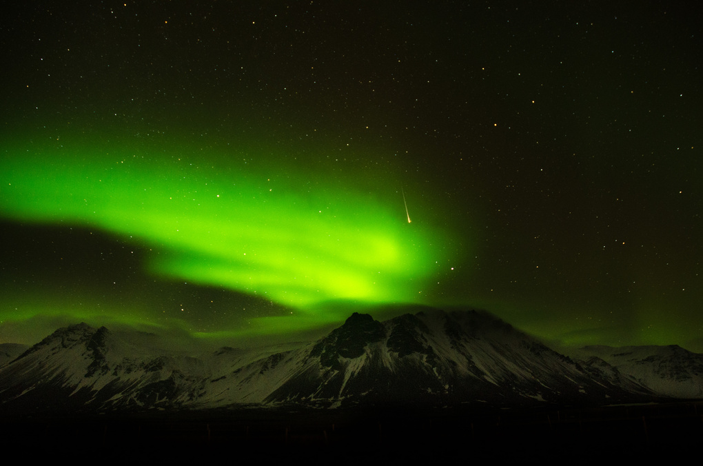 Northern Lights Over Iceland by Cody Ross