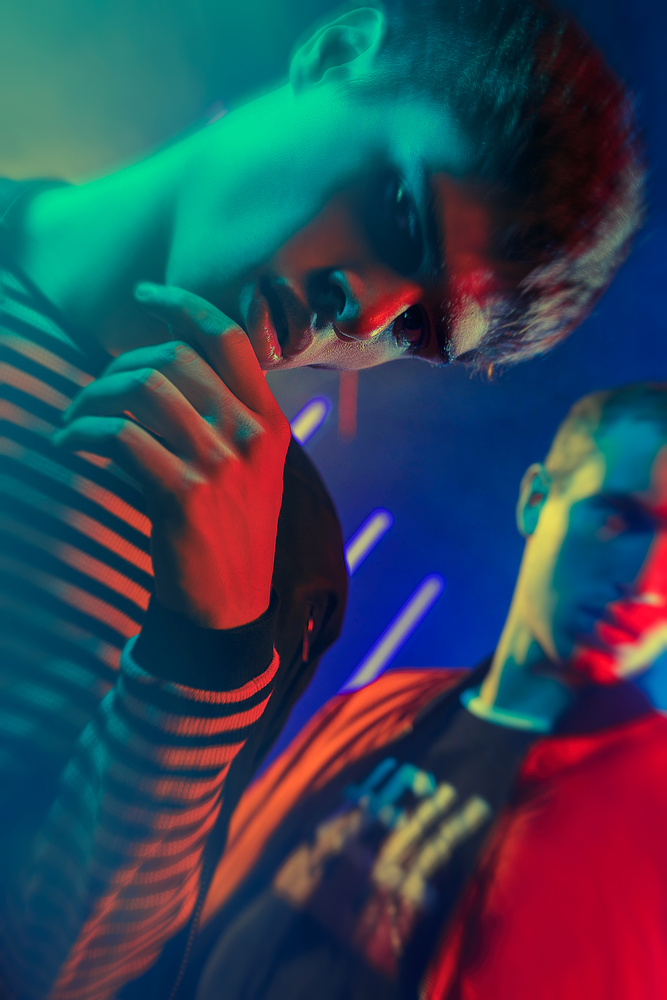 Luxo Neon by Mikeila Borgia