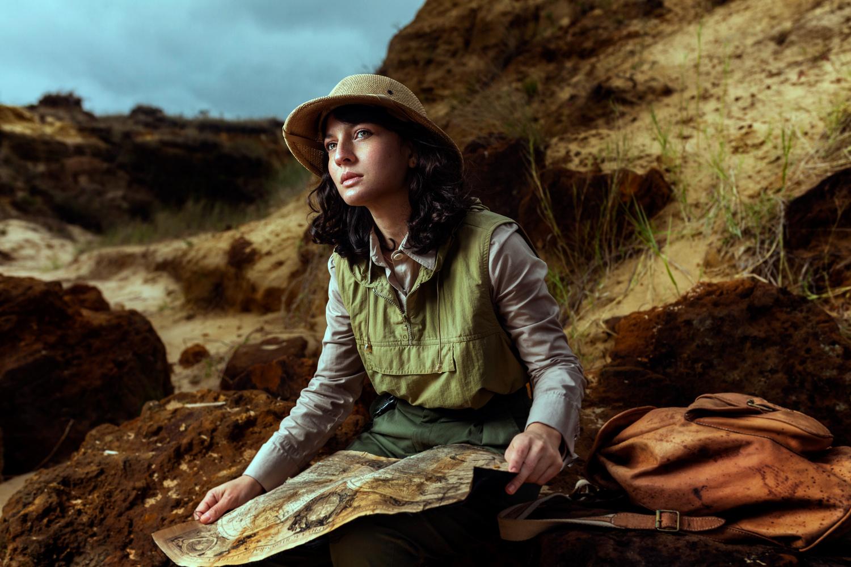 The Explorer by Mikeila Borgia