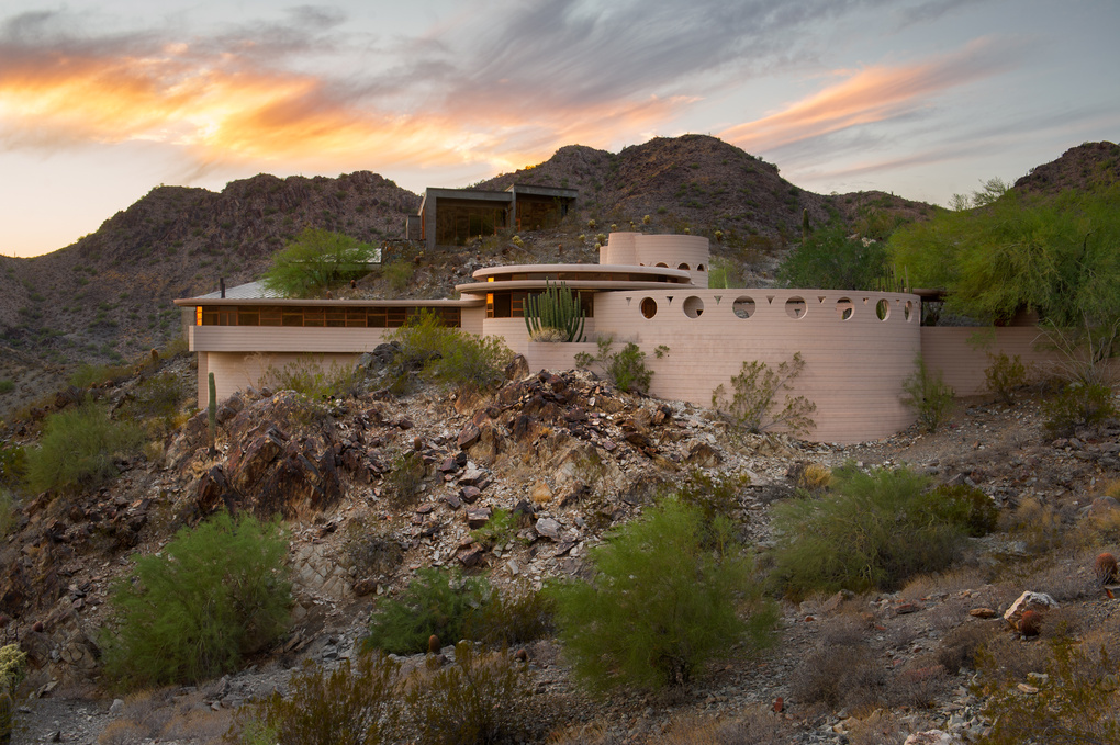 Frank Lloyd Wright's last designed home by Eric Kruk