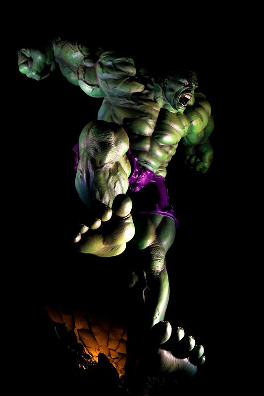 The Hulk Reigns Down by Trevor Schneider