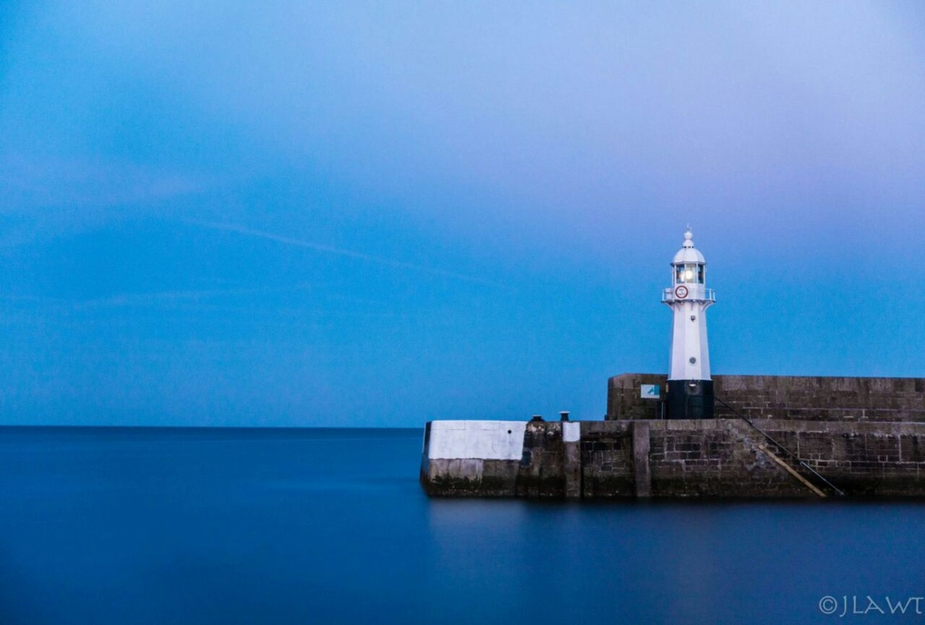 Cornwall lighthouse by James L