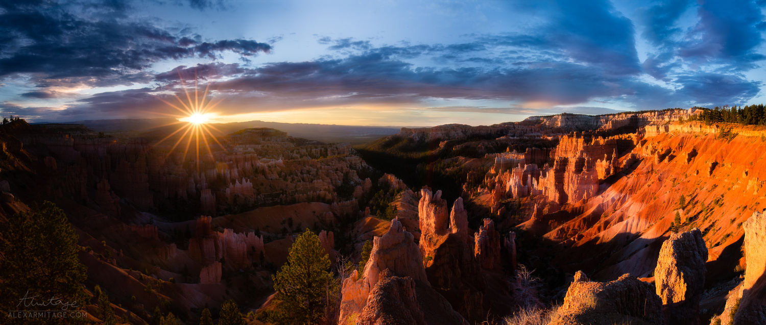 Sunrise in Bryce Canyon by Alex Armitage