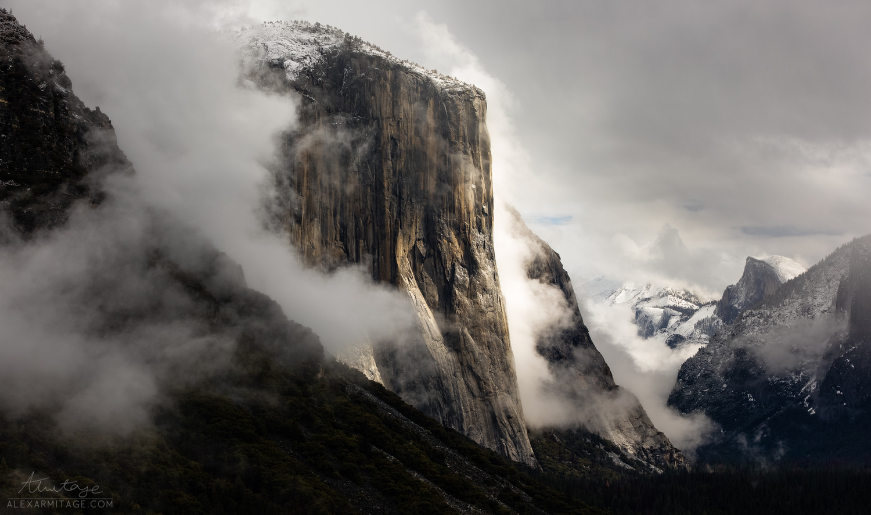 Ominous El Capitan by Alex Armitage