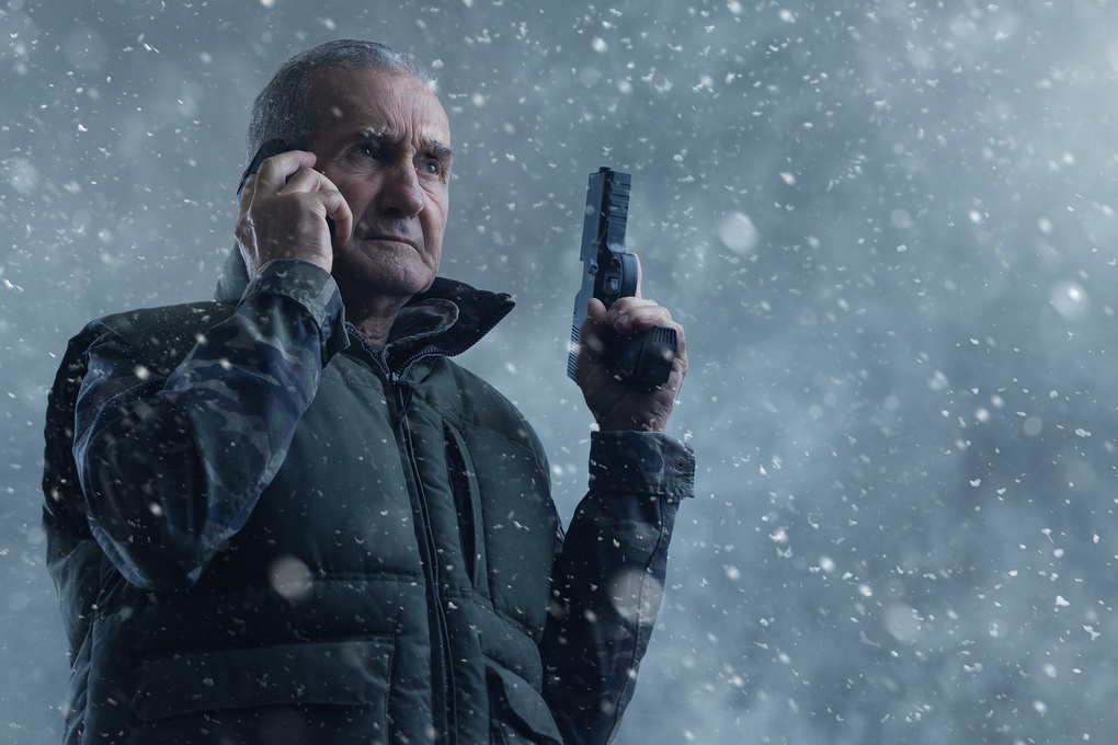 Grandpa channeling Liam Neeson by Dragos Ionescu