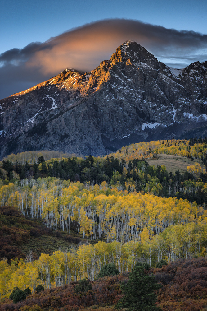 Sunrise, Dallas Divide, Colorado by John Dodson