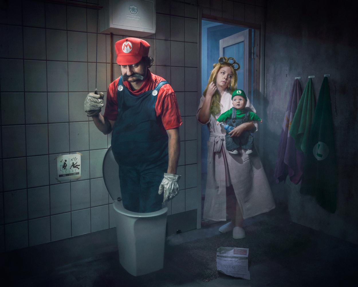 Mario, you´re too late! by Juhamatti Vahdersalo