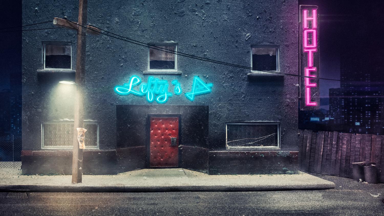 Lefty´s bar by Juhamatti Vahdersalo