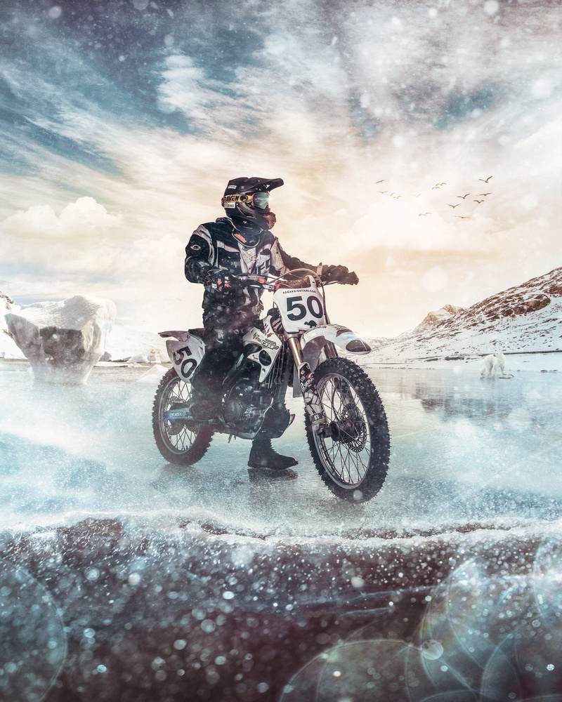 Motocross by Juhamatti Vahdersalo