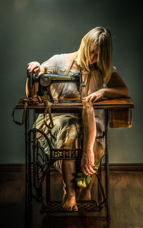 Sewing her destiny by Juhamatti Vahdersalo