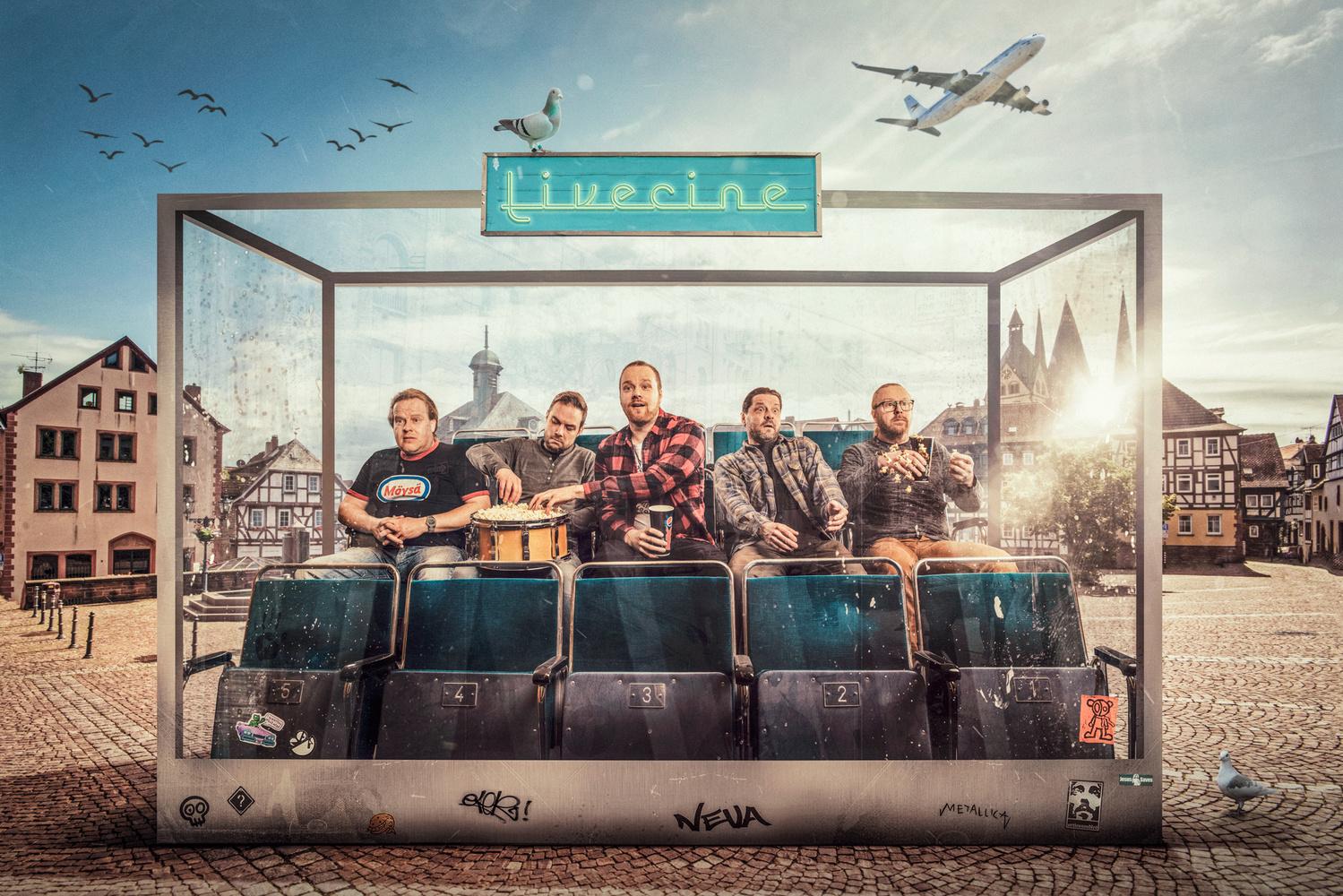 Livecine by Juhamatti Vahdersalo