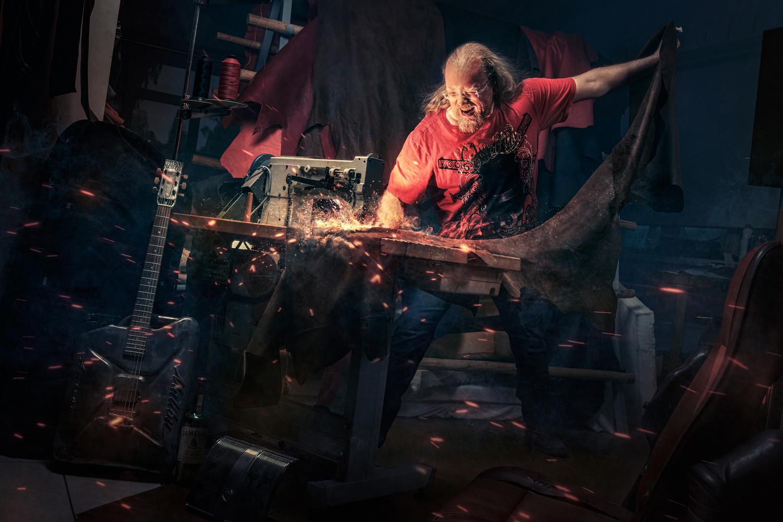 Upholsterer by Juhamatti Vahdersalo