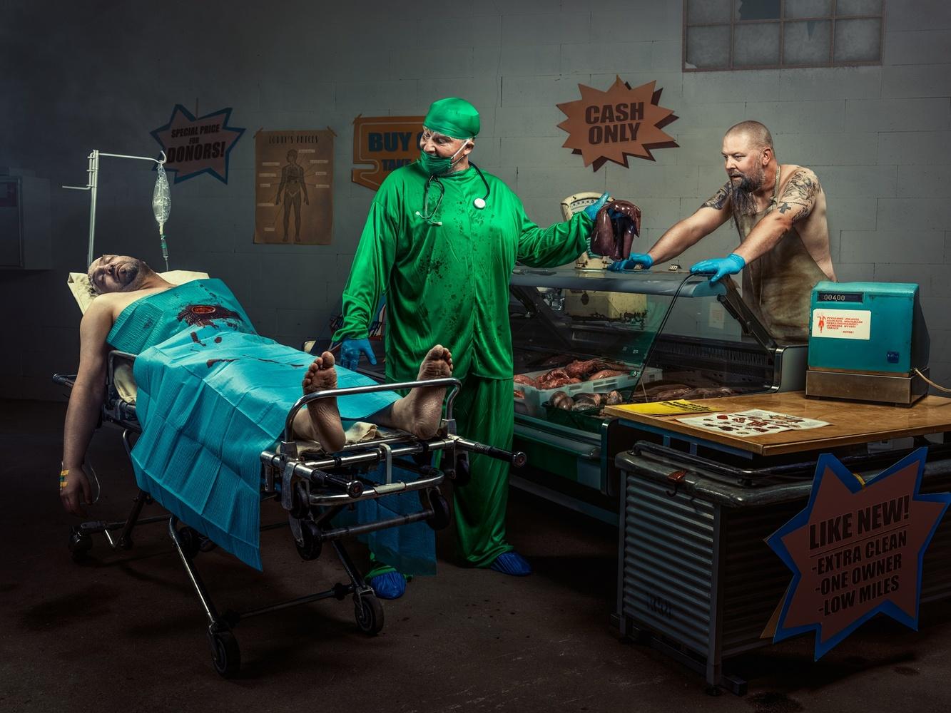 Organ market by Juhamatti Vahdersalo