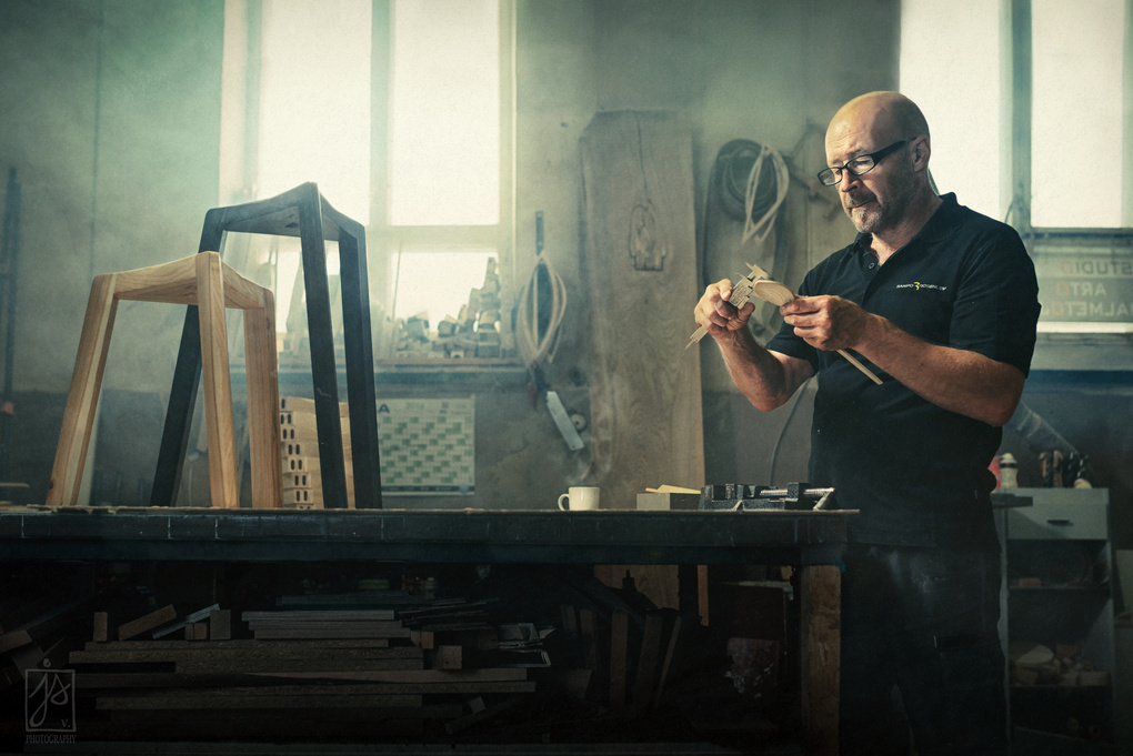 Cabinet maker by Juhamatti Vahdersalo
