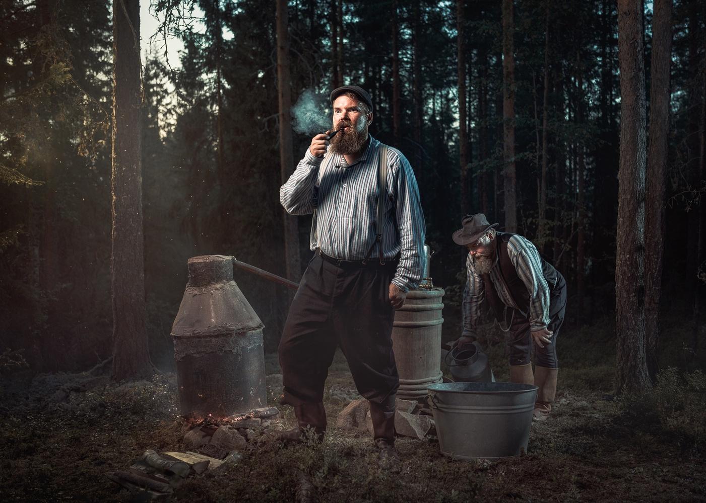 Moonshiners by Juhamatti Vahdersalo