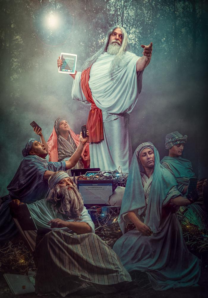 Modern religion by Juhamatti Vahdersalo