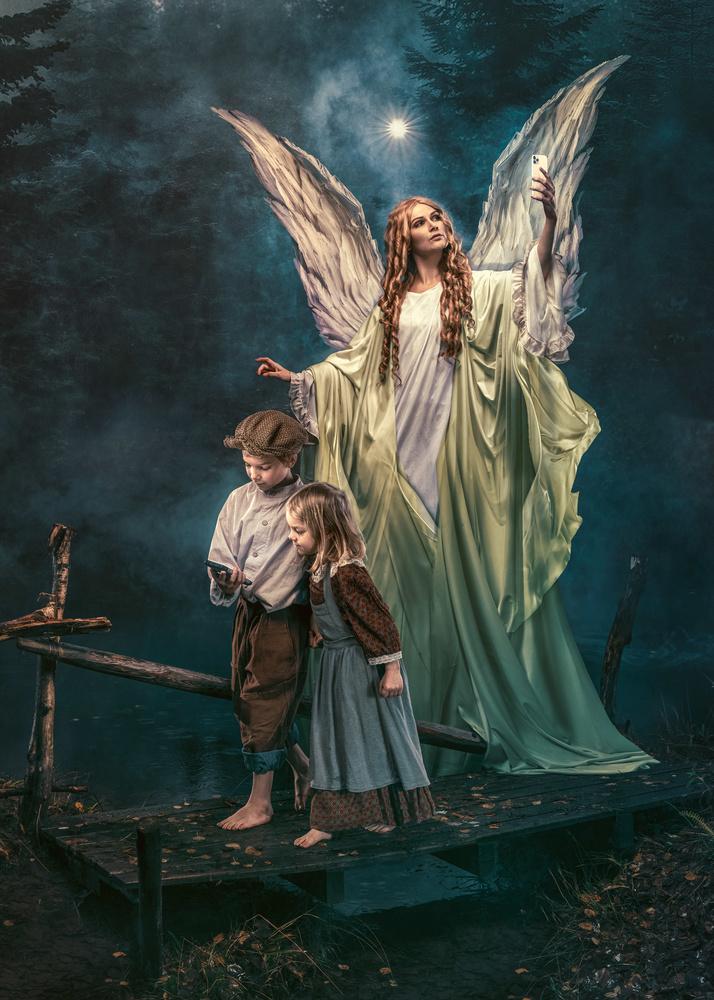 Modern religion - Guardian Angel by Juhamatti Vahdersalo