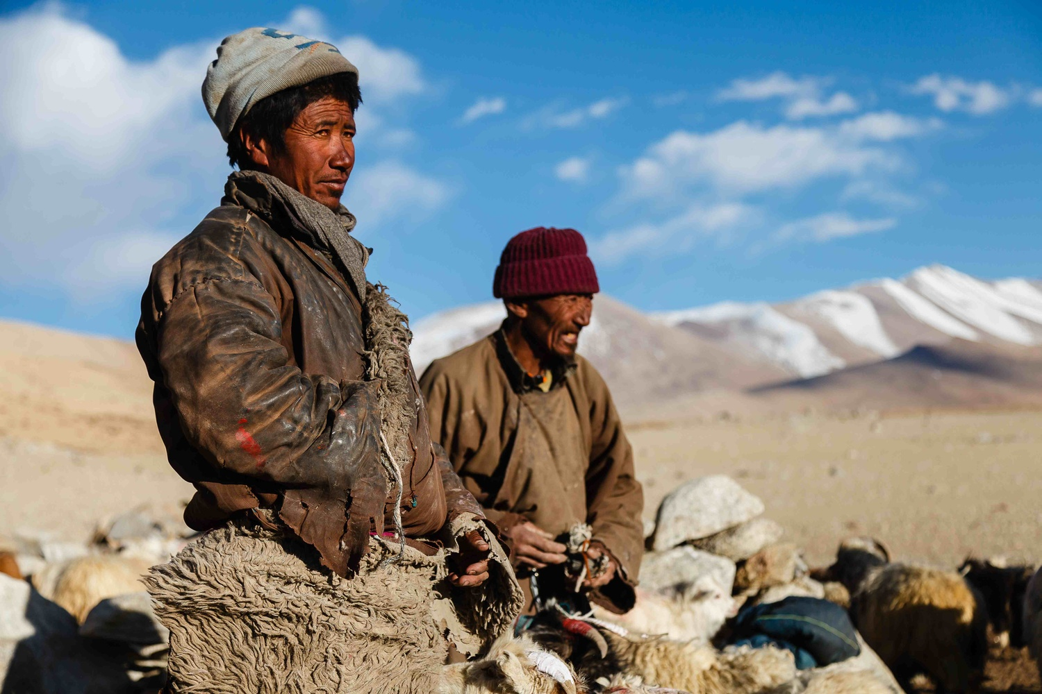 The Northern Pole Nomads by Tashi Namgyal
