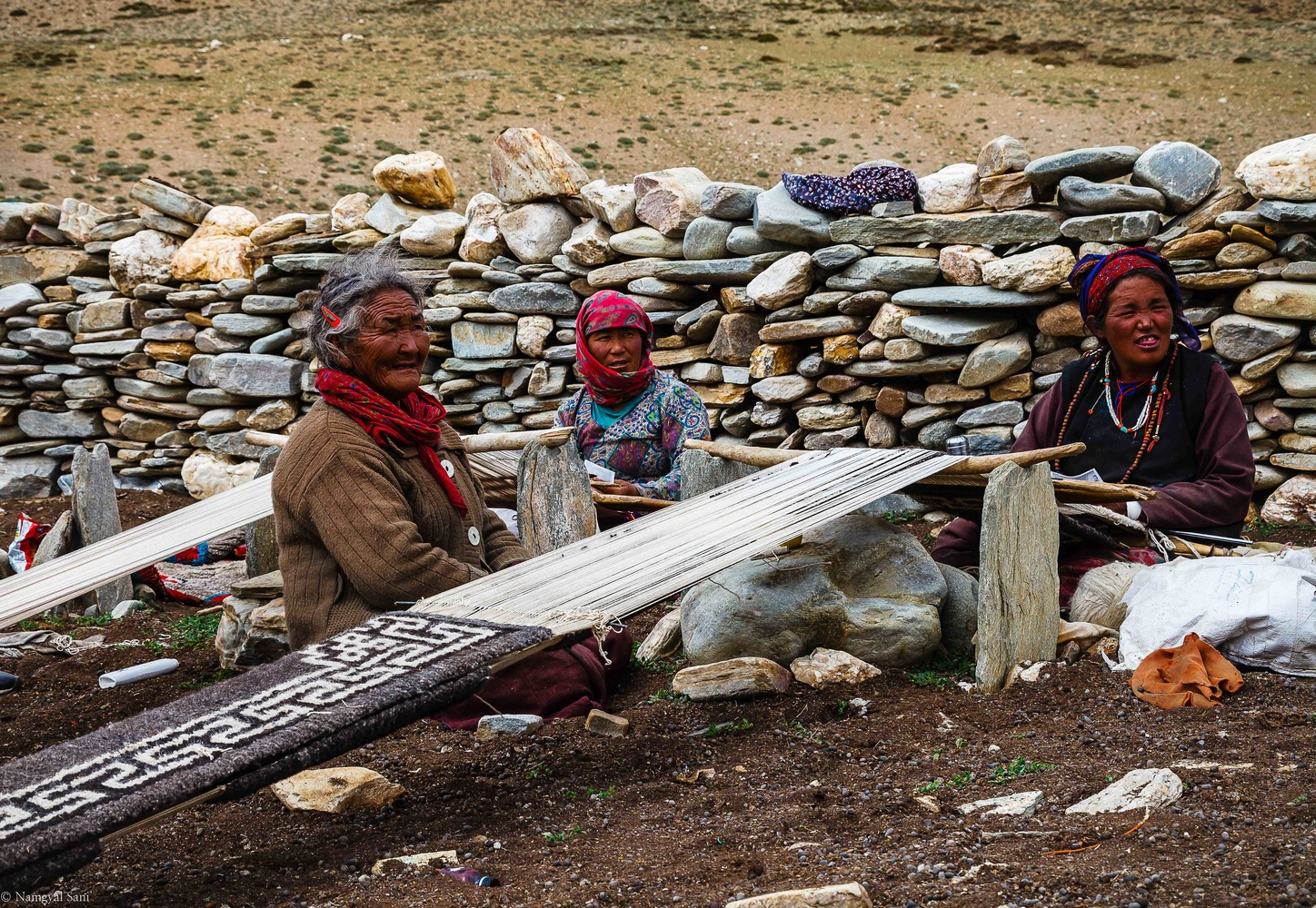 the nomads of 15000 by Tashi Namgyal