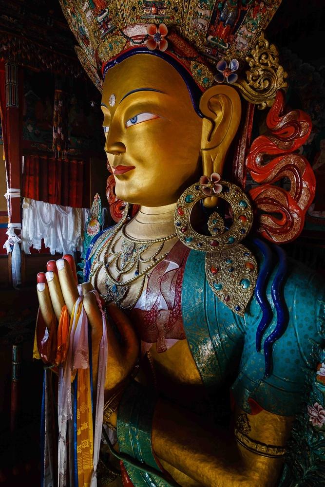 the Buddha by Tashi Namgyal