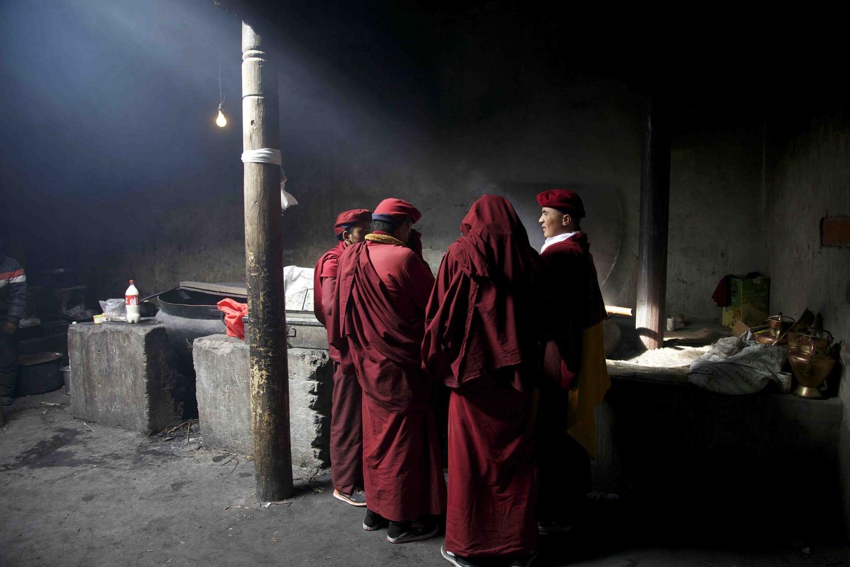 the monk kitchen by Tashi Namgyal