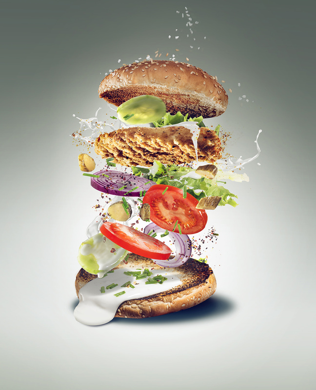 chicken burger by mark zawila