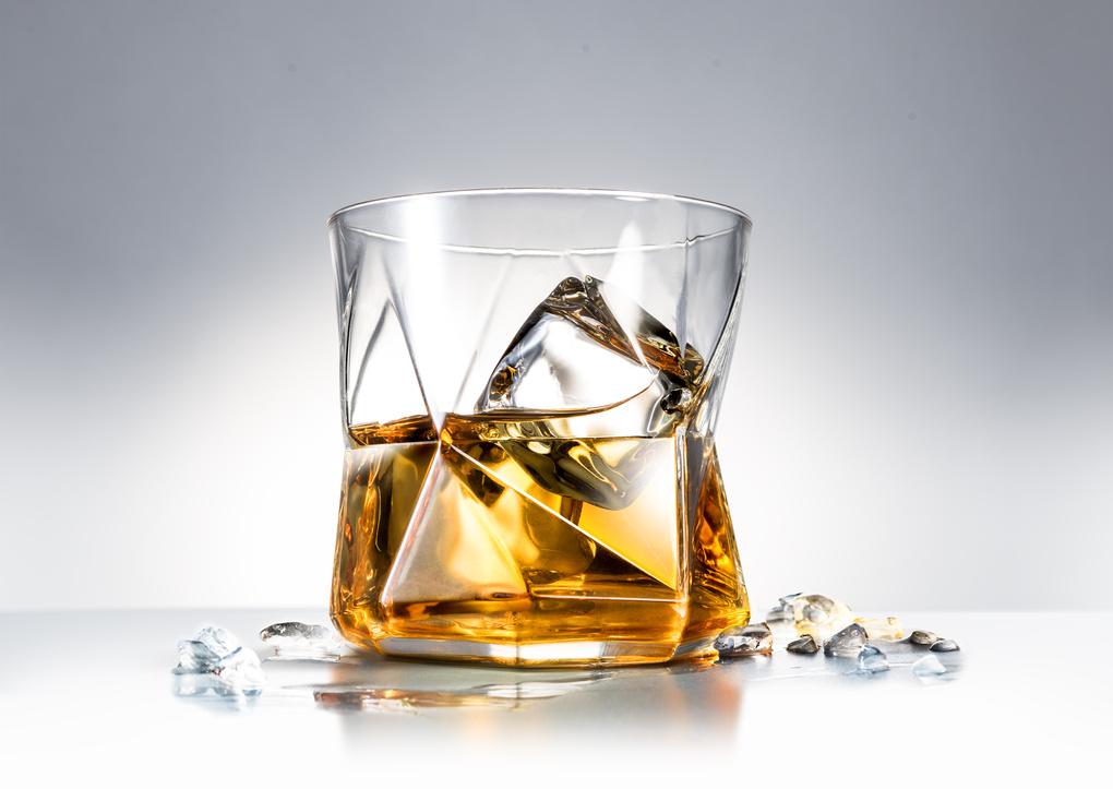 whisky glass  by mark zawila