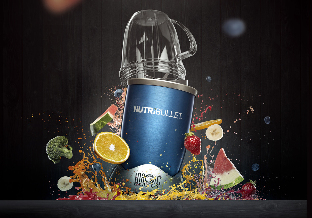 Nutribullet composite by mark zawila